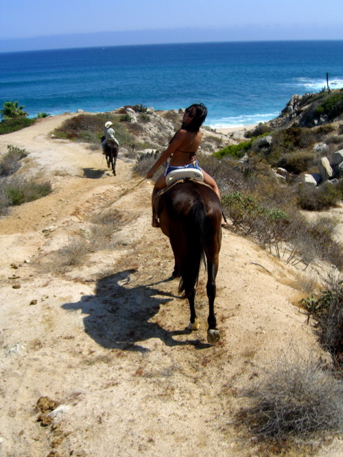Memories - travel by horseback in Cabo.