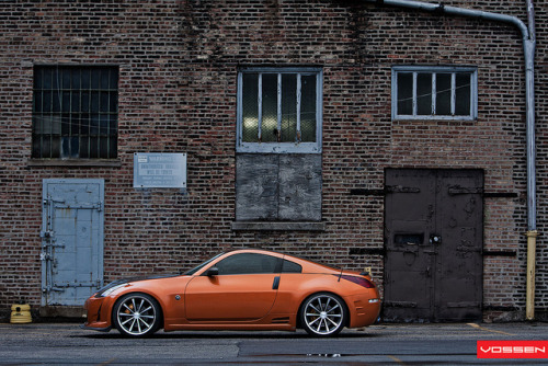 Nissan 350z - VVSCV1 by VossenWheels on Flickr.