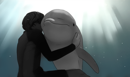 dadsleatherjacket:  DOLPHIN TALE FAN ART Q__Q I HAD TO GUYS. THIS MOVIE IS PRECIOUS.  OMG so cute