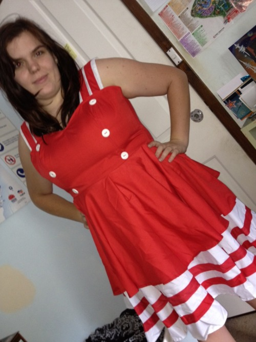 frockabilly:  The beautiful Cailey in a Frockabilly original