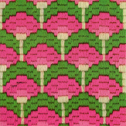 motleycraft-o-rama:  bargello magic - lollypop trees variation by gilliflower on Flickr.