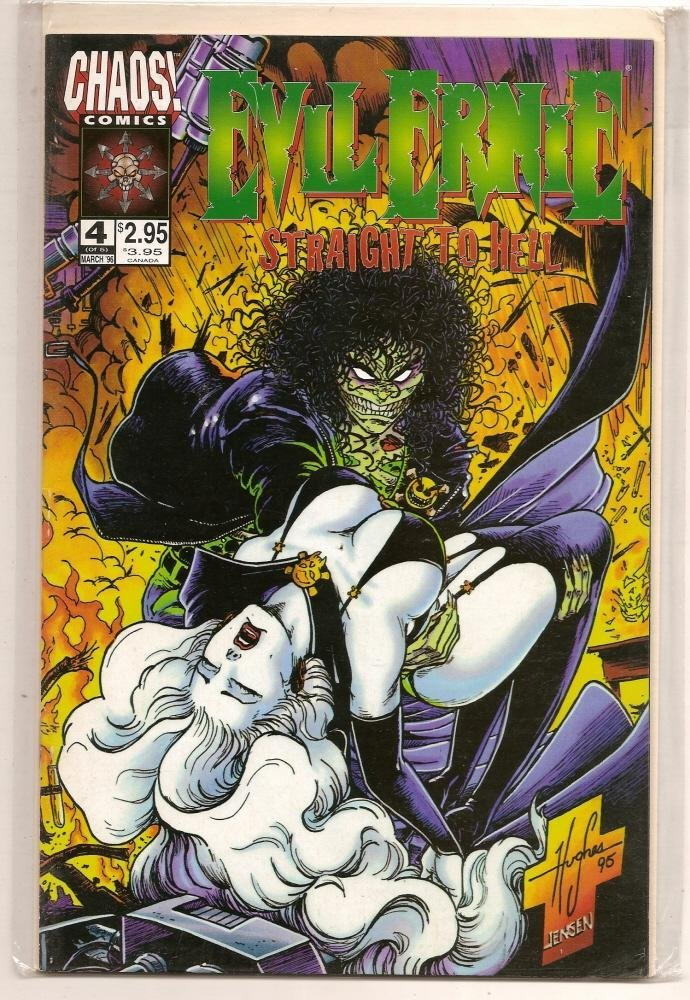 bullet-in-the-eye:  Lady Death & Evil Ernie