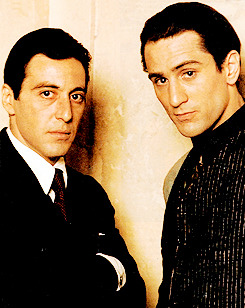 christophernolans:    Robert De Niro and Al Pacino