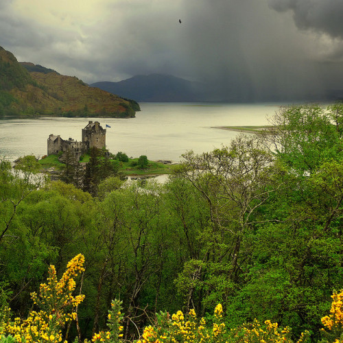 chasingthegreenfaerie:  Eilean Donan Highland castle by B℮n on Flickr.