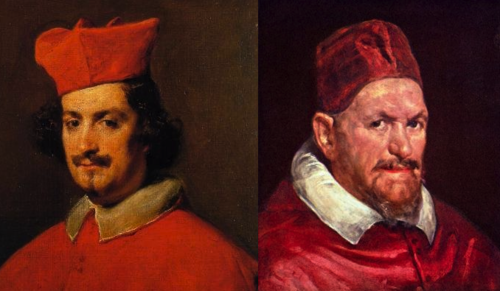 Pope Innocent X and Cardinal Camillo Astalli Who Wore It Best