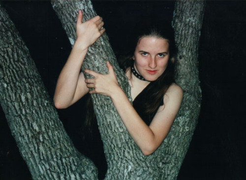 egbamf submitted this photo with no comment. This goth has her tree's branch firmly in her grasp.  The look on her face is a charmingly evil smirk, probably because she's got a decent night shot up a tree.  I can't see how high up she is exactly but I assume she's a respectable height.  Bonus points for the dog collar. I would have liked a bit more visible tree and visible gothness but we take what we can get. 4.9 out of 5 - Grasp your tree like you're never going to give it up (and it's never going to let you down) It's Friday night and I've had a couple of glasses of my finest home brew ginger beer, my boyfriend is doing an interperative dance to the winning Eurovision 2012 song at me and I'm feeling a bit generous/insane/like I need some vodka. So, until the 28th September you can buy a t-shirt for 20% off by using this discount code: soberupverity at my shop.  I only have 1 t-shirt left in some sizes so don't let them get away!