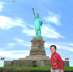 Before departing the United States, Kyle stopped for a quick visit to NYC.