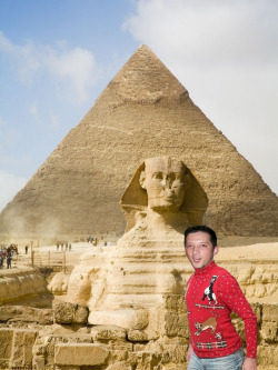 Off to Egypt to see some pyramids.