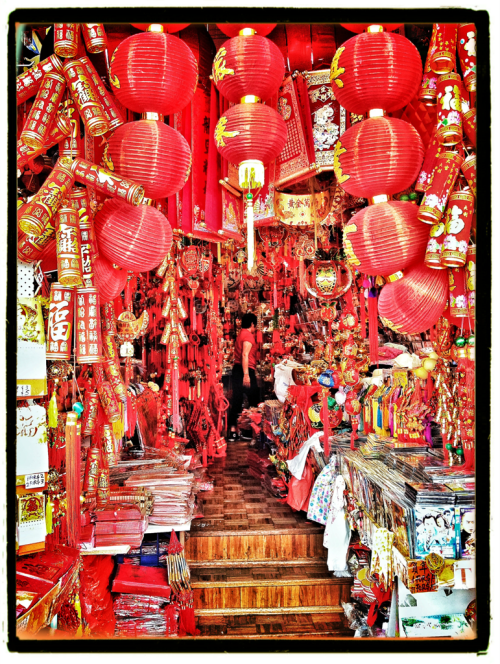 "iPhography by Funky Love Bunny - ""China town Sydney"". Taken on iPhone 4s with snapseed & pictureshow"