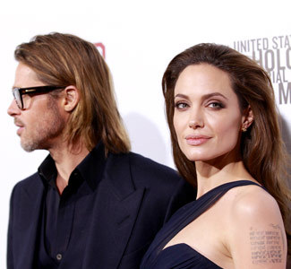 "Jolie Pitt waterfallAngelina Jolie must have had a hard time putting a bow on her Christmas present for Brad Pitt. The ""Land of Blood and Honey"" director gifted her longtime partner with a waterfall in California, as well as its surrounding land."