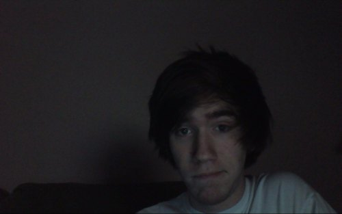 Webcam shot before bed, woo~