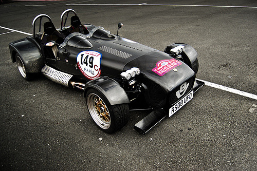 Final stage of mutation Starring: Caterham V8 Levante (by [ JR ])