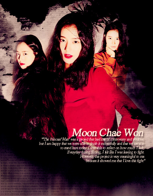 30 Days of Random Graphics Challenge, Day 3 Moon Chae Won