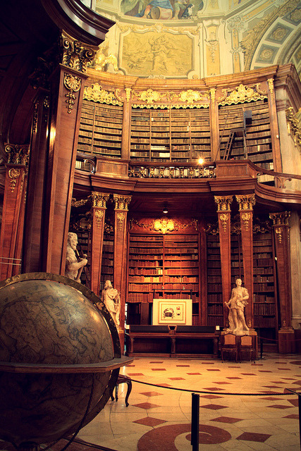 booklover:  Austrian National Library by FEOtwo on Flickr.