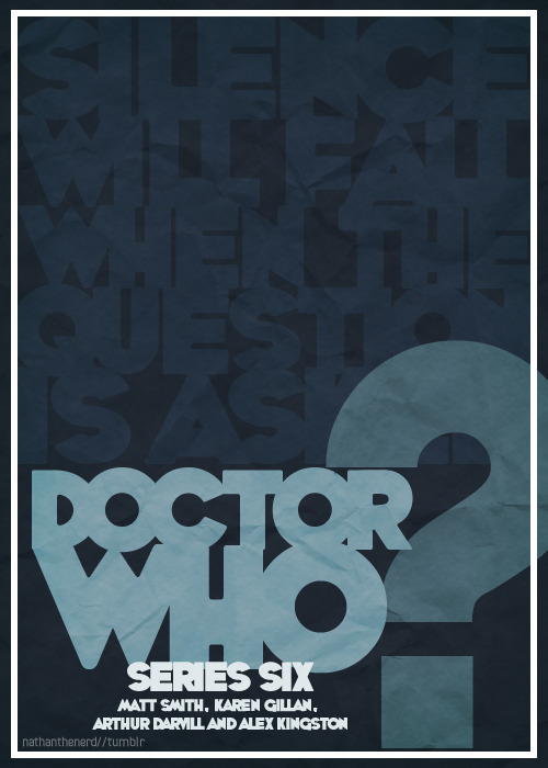 Project TARDIS: Doctor Who for minimalists.↳ Series Five - Starring Matt Smith, Karen Gillan, Arthur Darvill and Alex Kingston