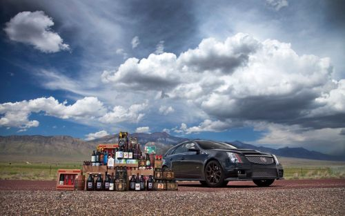 wagonation:  2011 Cadillac CTS V Sport Wagon (via Motortrend)  I want to do filthy things to this car. I want to get it muddy.