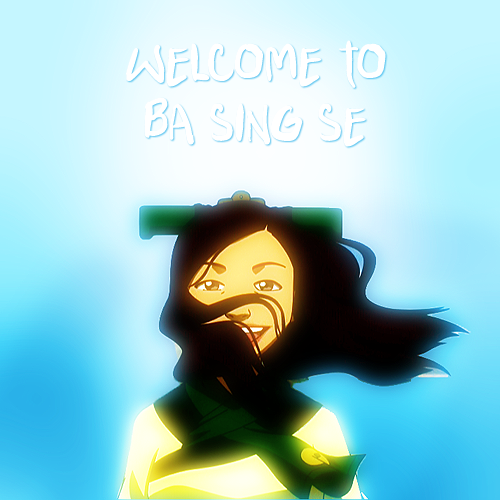 avatar-state-aang:  bei-fong-appreciation-blog:  lastairbender:  welcome to ba sing se.    This lady was creepy as fuck…