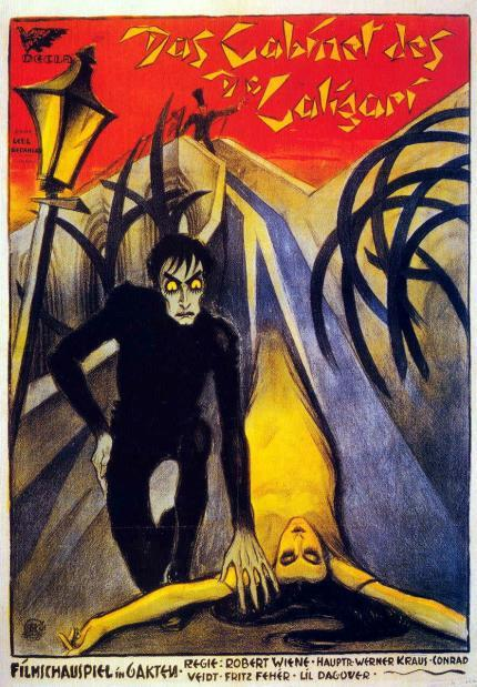lafiebre:  2012 in films 5. Das cabinet des Dr Caligari (The cabinet of Dr Caligari) - Robert Wiene, 1920. ______ A rewatch, but I'm still counting it on my 2012 movie challenge because it is a quality film! No comments here … anything I say about it is going to sound idiotic, given the film's masterpiece factor etc etc.