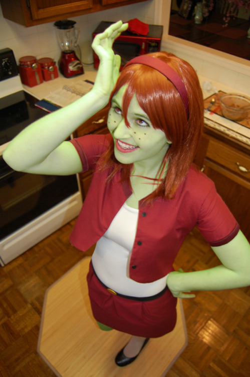 ♡ ABC Cosplay Challenge! ♡ M is Miss Martian (real name M'gann M'orzz, alias Megan Morse)