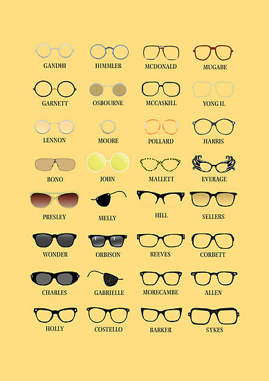 glasses and personalities :)