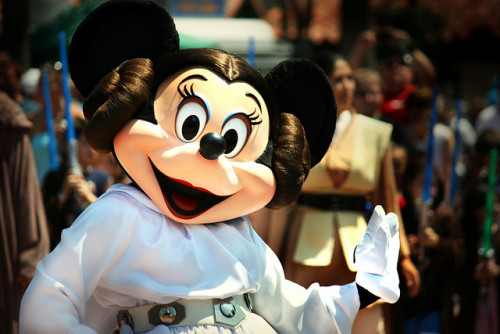 Minnie Mouse as Princess Leia by Linnette Alissa. on Flickr.