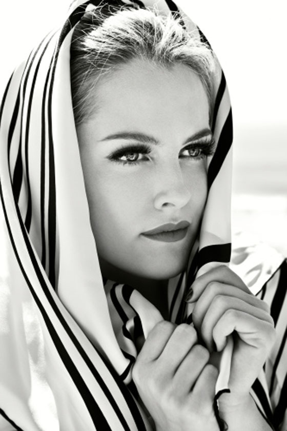 Gorgeous: Riley Keough, actress and model daughter of Lisa Marie Presley.