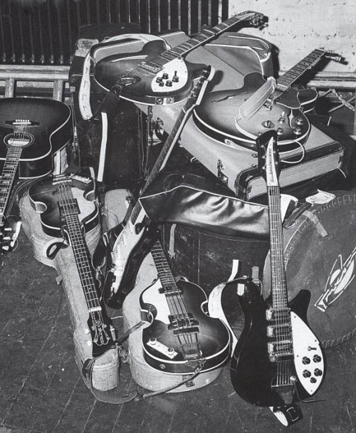 jai-guru:  December 1965: The Beatles' gear for their final UK Tour.