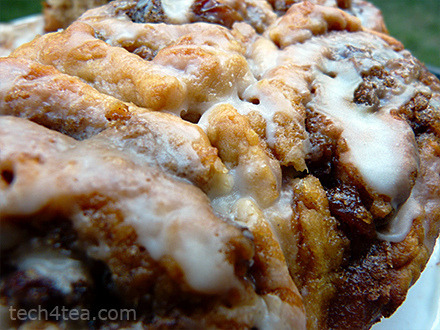 Photo: Cinnamon rolls with raisins Cinnamon rolls with lotsa cinnamon, brown sugar, raisins. Cinnamon has been attributed with a number of health benefits.