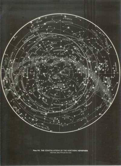 The constellations of the northern hemisphere