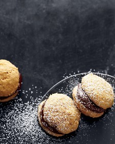 "Chocolate Pumpkin Whoopie Pies … Just the idea of these is yummy! Definitely ""Double Batch"" time! Make!"