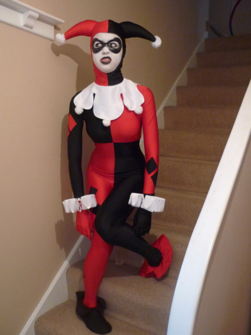 Harley Quinn getting dizzy…