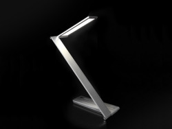 BE Light is an LED desk lamp for reading, designed by QisDesign, who have perfectly described the concept to us: With its clever hinge design, it can be fully extended to a height of 33.4 cm, and an angle of up to 135 degrees. It also provides adequate task lighting with white LED. When not in use, it can be folded down flat to a minimum height of 1.8 cm, taking up the least amount of space on a desk. It is made of aluminium alloy, which provides a greatly refined metallic finish. Yet what I find the most striking is its slim form and lightness when you are using it and how easily you can flatten it when you wish for it to go unnoticed on your desk.