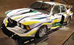 WESTERN WISHLIST: Roy Lichtenstein X BMW 320i