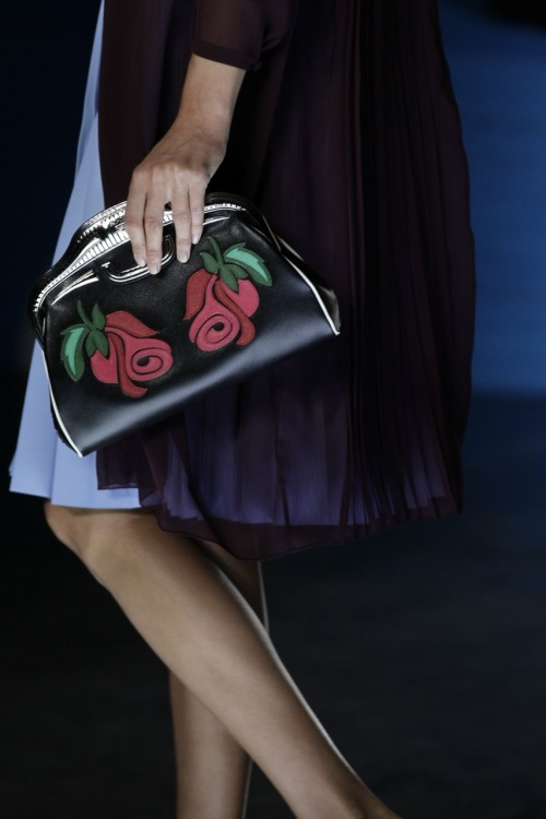 glamour:  Prada spring 2012. Photo: Fairchild Archive