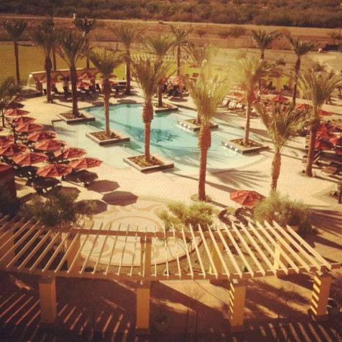 Back in Tucson to see our friends at Casino Del Sol (Taken with instagram)