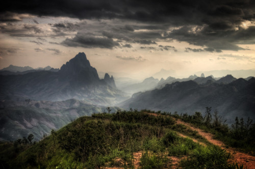 ohhaydere:  Khao Tong Kasi, Laos. A view I will experience soon enough.