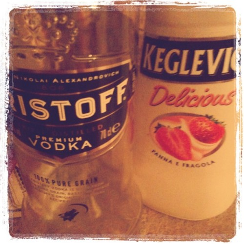 #Vodka #keglevic #eristoff (Taken with instagram)