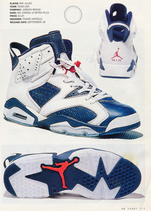 My Fave The Nike AIr Jordan 6 Olympics !
