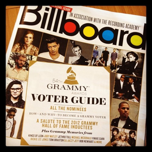 Billboard Magazine's #GRAMMY Issue is on newsstands now!
