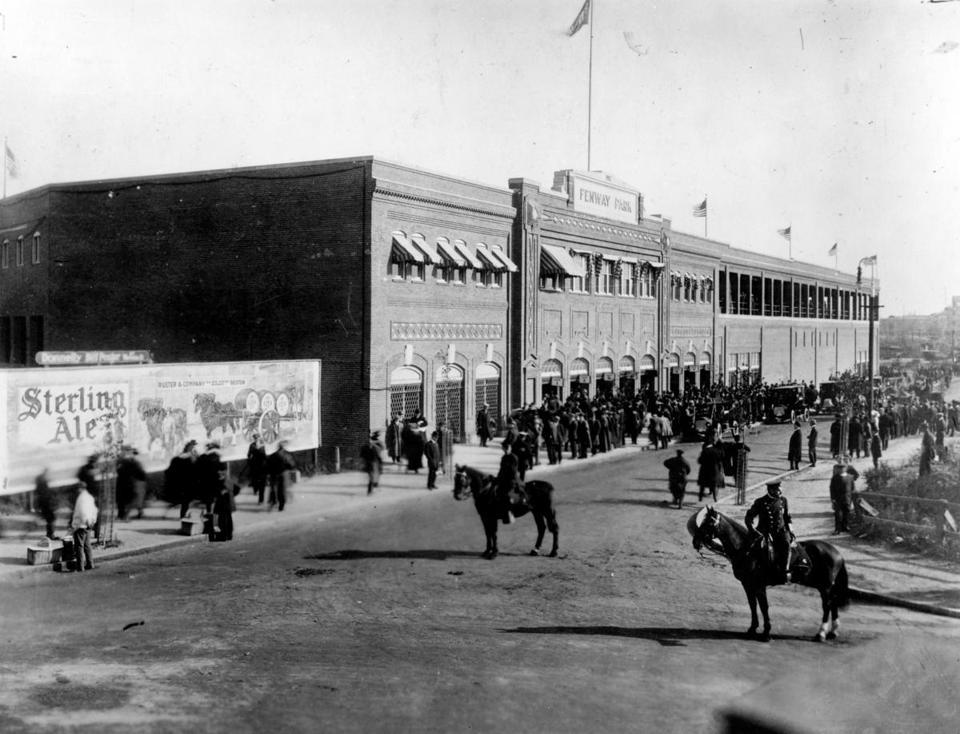 Many Boston landmarks turn 100 this year - A ballpark, hotel, and zoo were just a few of the new additions to Boston in 1912 that have long since become city landmarks.