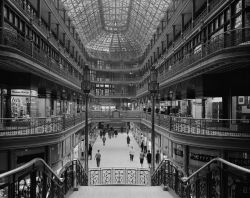 The First Mall. The Arcade in Cleveland, Ohio by Martin Linsey