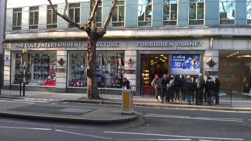 Forbidden Planet London M·U·S·T