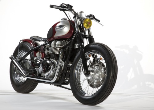 hangaround:  Bonneville Bobber by Pangea Speed   -really gorgeous. If I had a motorcycle, it would be a lot like this.