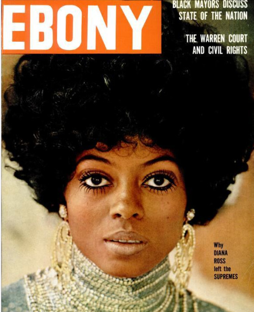 ebonymag:  And then there was… DIANA. Diana Ross, February 1970.  Ebony Magazine launches archive Tumblr ♥