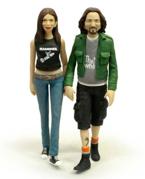 An Eddie Vedder & Jill McCormick cake topper? Yep, it exists.  h/t to The Sky I Scrape