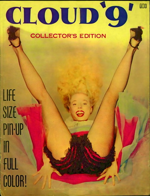 hollyhocksandtulips:  Cloud 9, featuring Betty Brosmer, 1950s