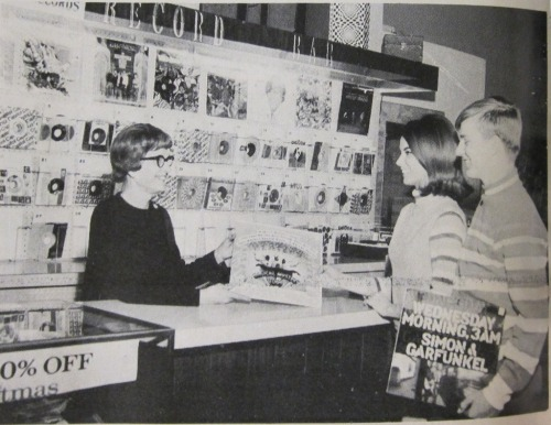 Teens Shopping at a Record Store