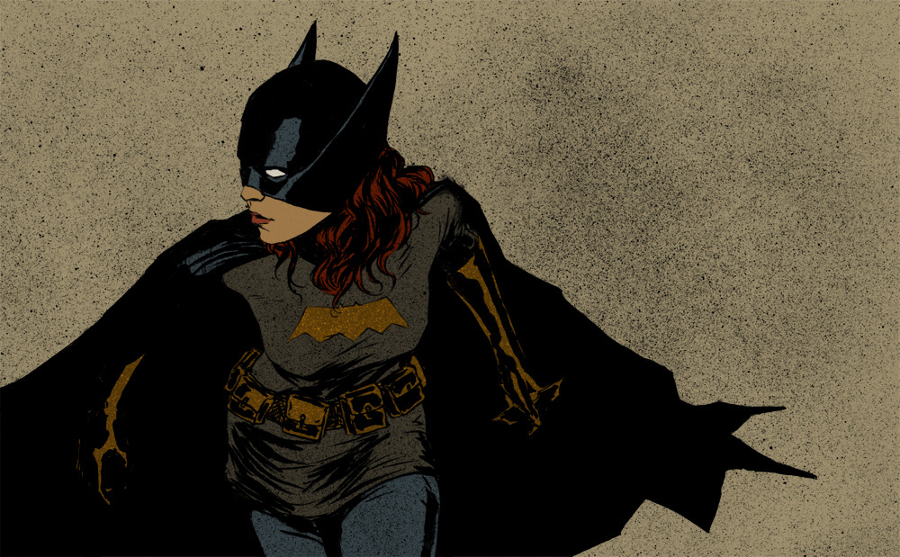 rmsk8r05:  The Batgirl by ~clayrodery   Omg I love this!!!