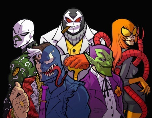 emili-emili-emili:  Batman villains + Spider-Man villains