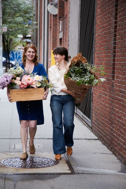 Sarah and Nicolette, the floral virtuosi behind the Little Flower School and popular NYBG instructors, are featured in the February issue of Martha Stewart Living magazine. But that's not all. As an added bonus, Martha Stewart's At Home in the Garden blog did a Q&A with some of the students featured in the spread (who just happen to be some of our very favorite bloggers!). Check out the beautiful floral arrangements that these ladies were able to create after just one class, and you'll probably feel inspired too. So, I guess it's a very good thing that we have a class in Manhattan coming up with these very talented ladies! On February 21 at our Midtown Center, Sarah and Nicolette will be teaching a class all about one of the most beautiful, alluring, dare I say … Victorian, of winter flowers, the anemone. The class will teach basic floral arranging techniques culminating in an opulent display to take home that may also include dainty ranunculus, daring amaryllis, and cheery citrus. Sign-up soon though. Space is limited, and going fast. I think you can see why! ~AR